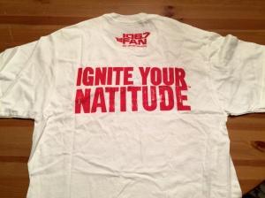 Ignite Your Natitude Shirt