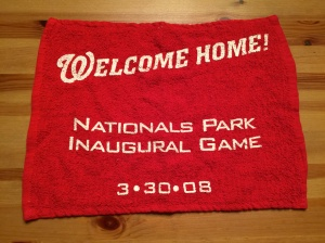 Inaugural Game Towel