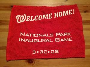 Inaugural Game Towel