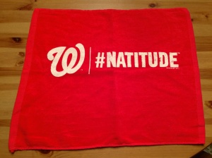 Playoff Natitude Rally Towel